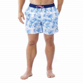 Short de bain Palm Beach en polyester et élasthanne.