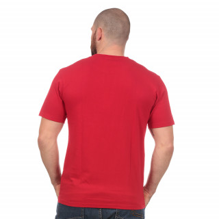 T-shirt rouge Maori Rugby