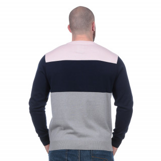 Pull rugby club gris clair
