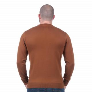 Pull essentiel marron