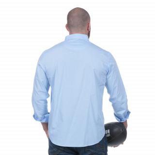 Chemise rugby essentiel bleue
