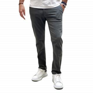 Pantalon chino essentiels gris clair