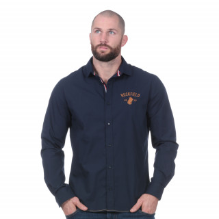 Chemise manches longues French rugby club marine