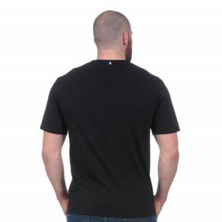Tee-shirt noir French rugby club