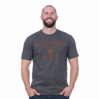Tee-shirt manches courtes héritage gris foncé