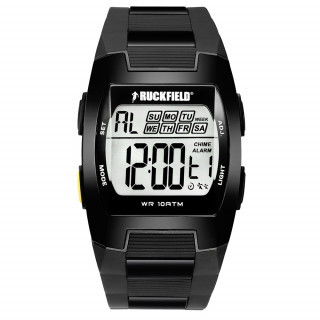 Montre homme quartz digital black étanche