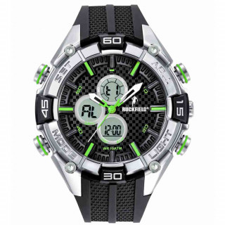 Montre silicone Rugby Camps noire