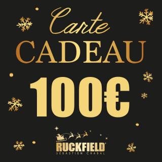 Carte cadeau Noël d'une valeur de 100€