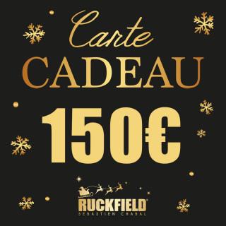 Carte cadeau Noël d'une valeur de 150€