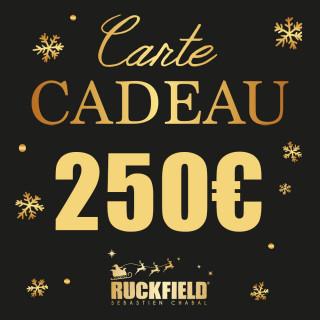 Carte cadeau Noël d'une valeur de 250€