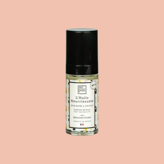 Huile hydratante salvatrice 30ml, soin barbe et cheveux, par Sébastien Chabal. Aux extraits de musc, pour tous les poils, et fabriqué en France.