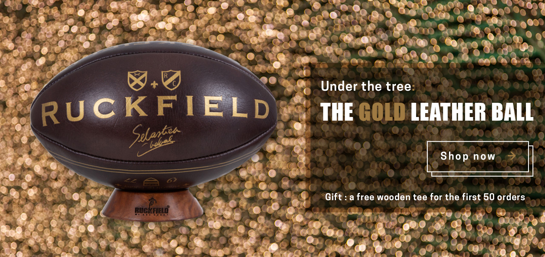 THE GOLD LEATHER BALL