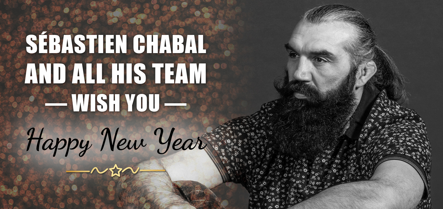 Sébastien Chabal and all this team wish you Happy New Years