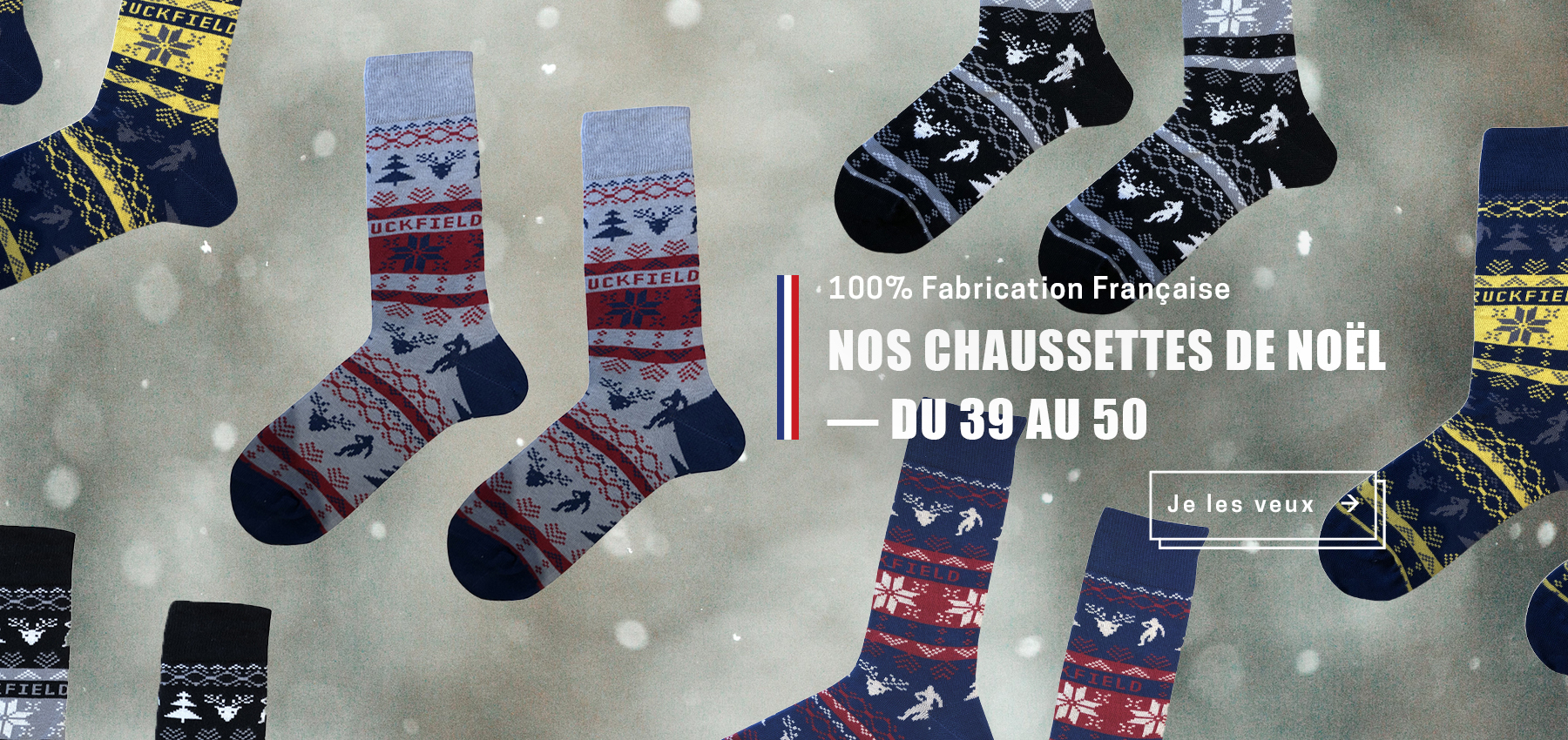 Découvrez les chaussettes Ruckfield made in France