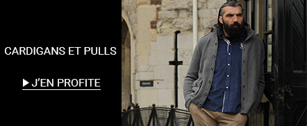 Soldes pull homme  grandes tailles