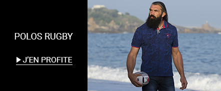 Soldes Polo rugby grandes tailles