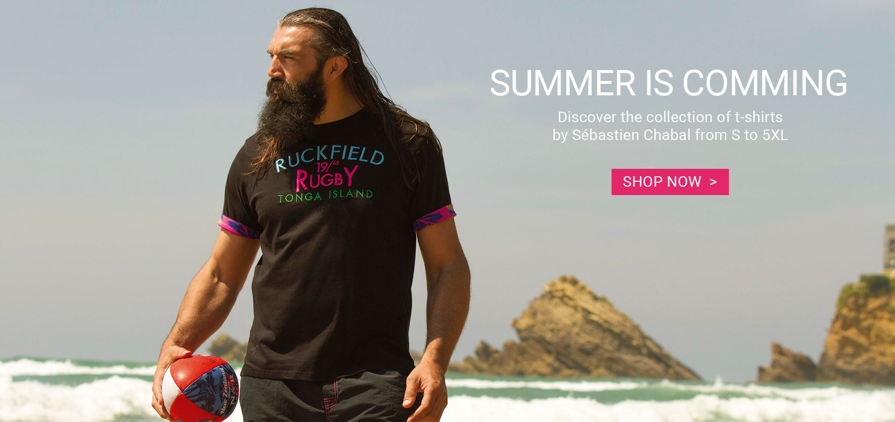 RUCKFIELD Sebastien Chabal new spring summer 2017 collection